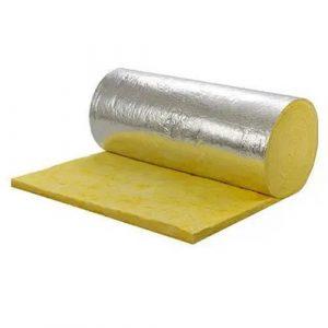 Glasswool with foil density 16kg, 24kg dan 32kg/mtr3
